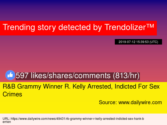 R Kelly arrested again for child pornography