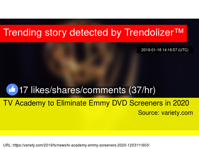 TV Academy to Eliminate Emmy DVD Screeners in 2020