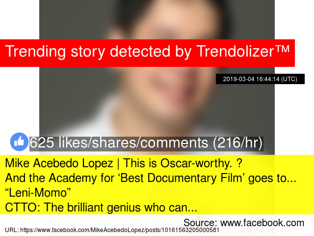 Mike Acebedo Lopez | This is Oscar-worthy  😂