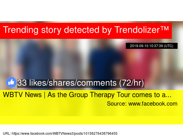 WBTV News | As the Group Therapy Tour comes to a