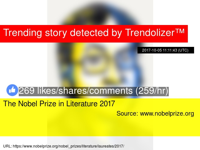 the nobel prize in literature 2017
